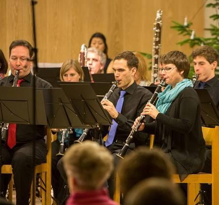 Klarinettenchor Wettingen im Konzert