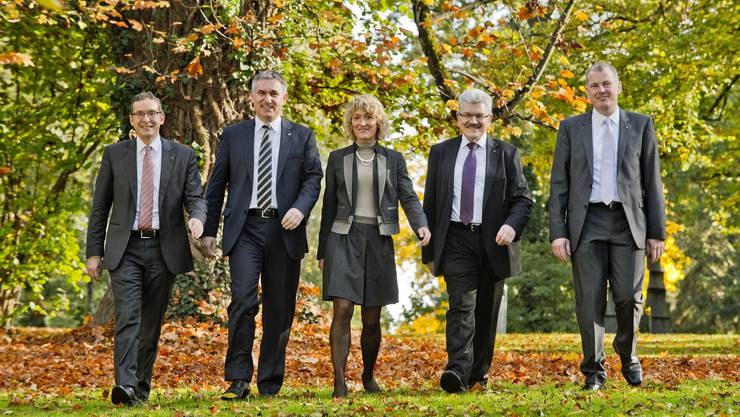 Die fünf Mitglieder des Regierungsrats erhalten pro Jahr zusammen Mandatshonorare von rund 90 000 Franken, die vollumfänglich in die Staatskasse abgeliefert werden.