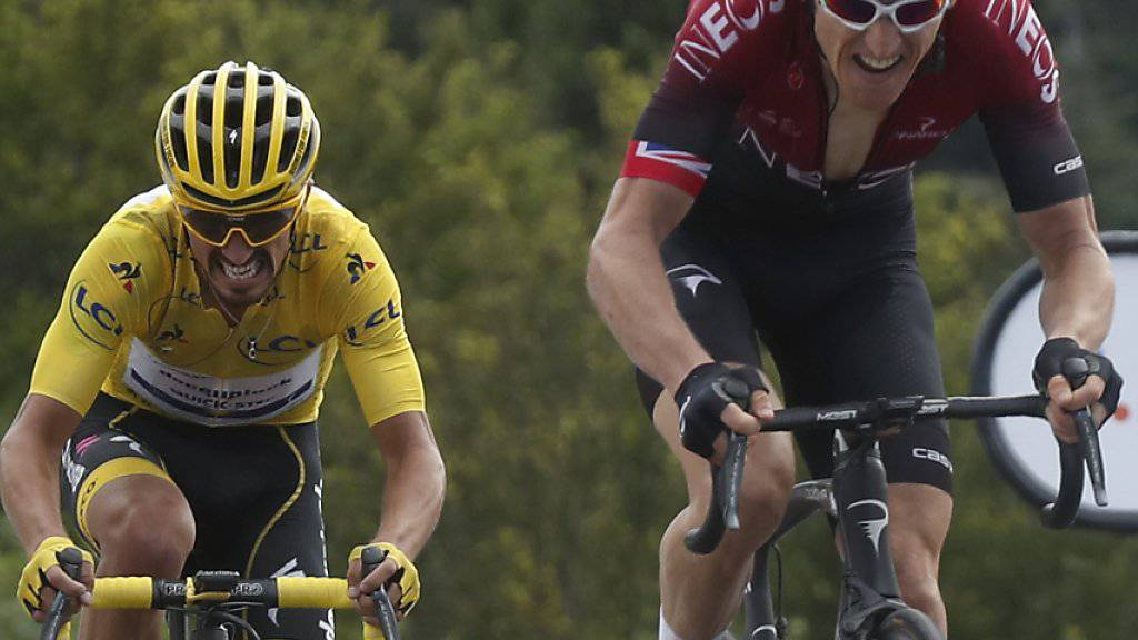 Giulio Ciccone übernimmt Maillot jaune
