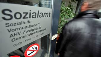 Die Sozialhilfequote im Aargau liegt weiterhin deutlich unter der gesamtschweizerischen Quote. (Symbolbild)