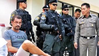 Andre Xavier Justo wartet am 23. Juni 2015 in Thailand auf seinen Prozess. Er brachte einen der grössten Korruptionsskandal in Südostasien ins Rollen.