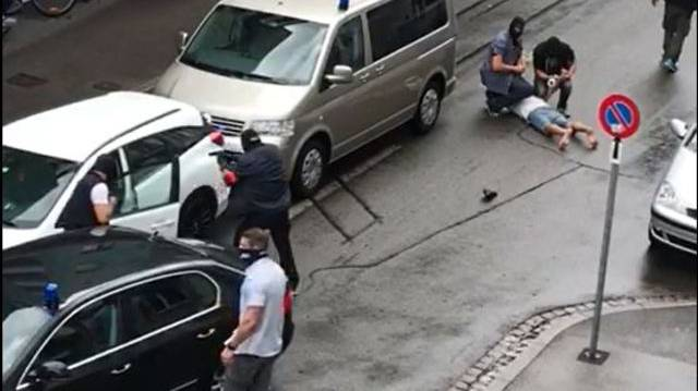 Polizei-Einsatz an der Basler Colmarerstrasse