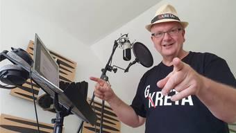 Marcel Weber reiste für die Studio-Aufnahmen seines Greta-Songs nach Deutschland. Bild: zvg