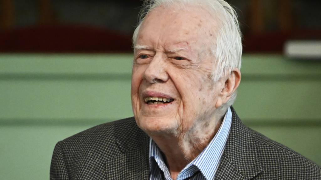 Früherer US-Präsident Carter im Spital