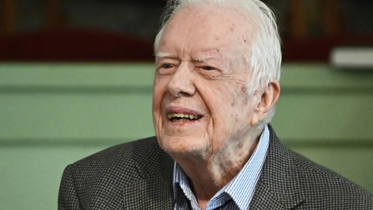 Ins Spital eingeliefert: der frühere US-Präsident Jimmy Carter. (Archivbild)