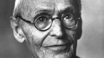 Undatiertes Porträt von Hermann Hesse (Archiv)
