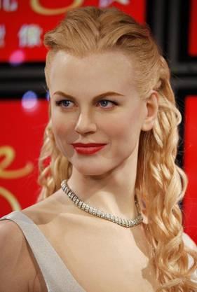Nicole Kidman als Wachsfigur Madame Tussauds wax museum in Hong Kong