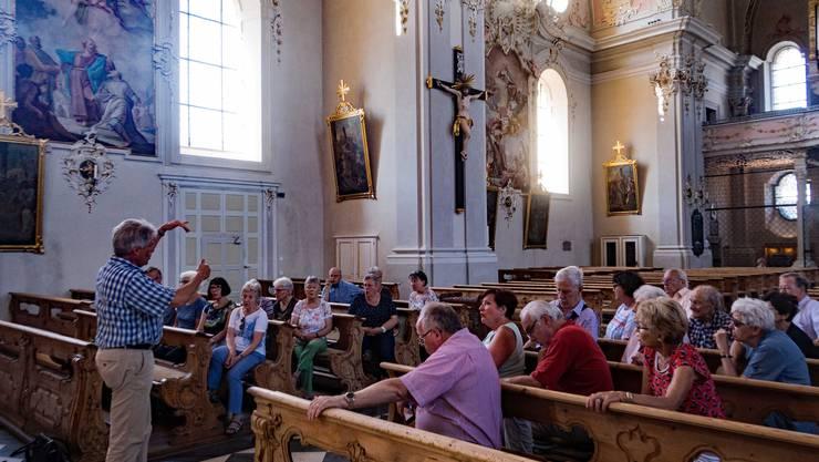 In der Basilika von Wilten bei Innsbruck (BB).