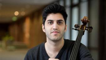 Cello-Jungstar Kian Soltani. HO