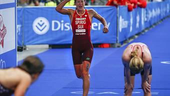 Nicola Spirig Ende April beim WM-Serie-Rennen in Kapstadt