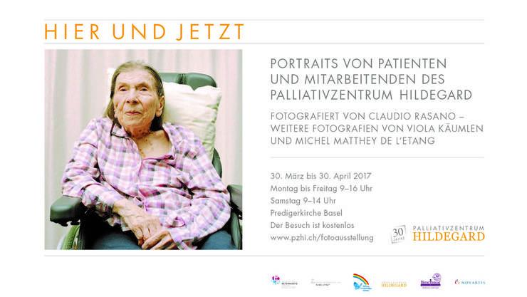 """Einladung zur Fotoausstellung """"hier und jetzt"""""""