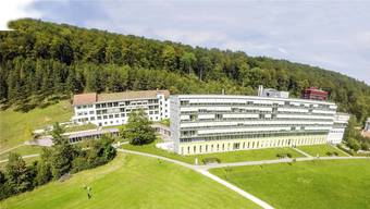 Die Klinik Barmelweid in Erlinsbach AG.