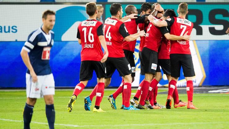 Ende August holte Aarau beim 1:1 in Luzern einen Punkt.