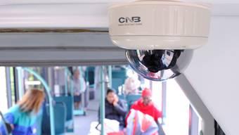 Video-Kamera in BVB-Tram (Archiv)