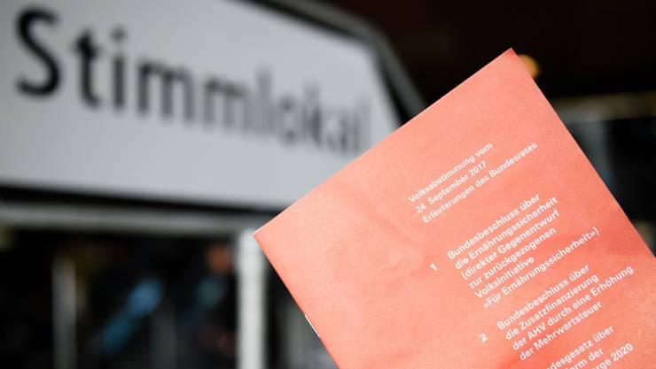 Am 10. Juni entscheidet das Stimmvolk über das Geldspielgesetz und die Vollgeld-Initiative. (Archiv)