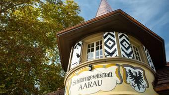 Schützenhaus Scheibenschachen Aarau Schlüsselübergabe