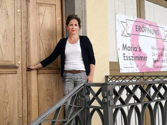 Auch das Restaurant «Maria's Esszimmer» im Seetal, geführt von Mirjam Strub, hat Chancen auf den Titel als Schweizer Gastro-Meister.