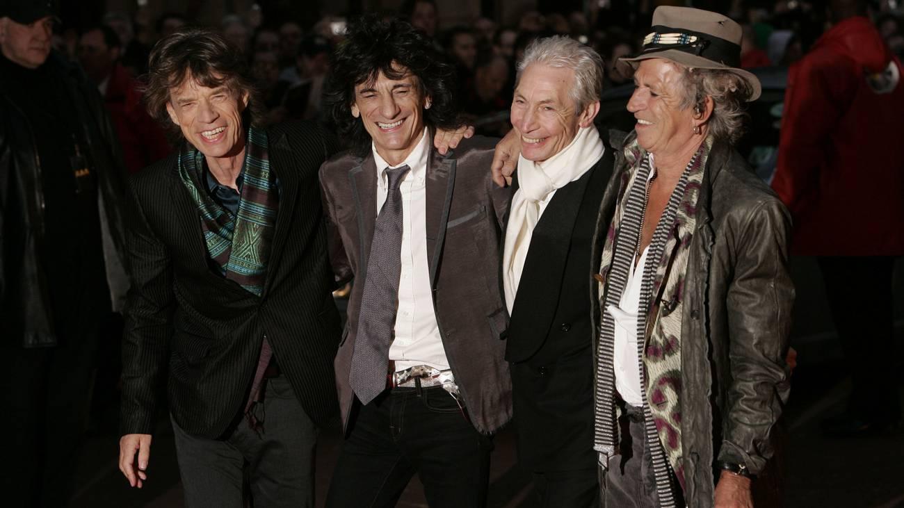 The Rolling Stones (© Keystone)