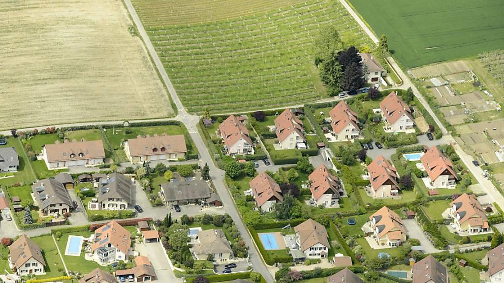Eigenheim wird für immer mehr Leute unerschwinglich