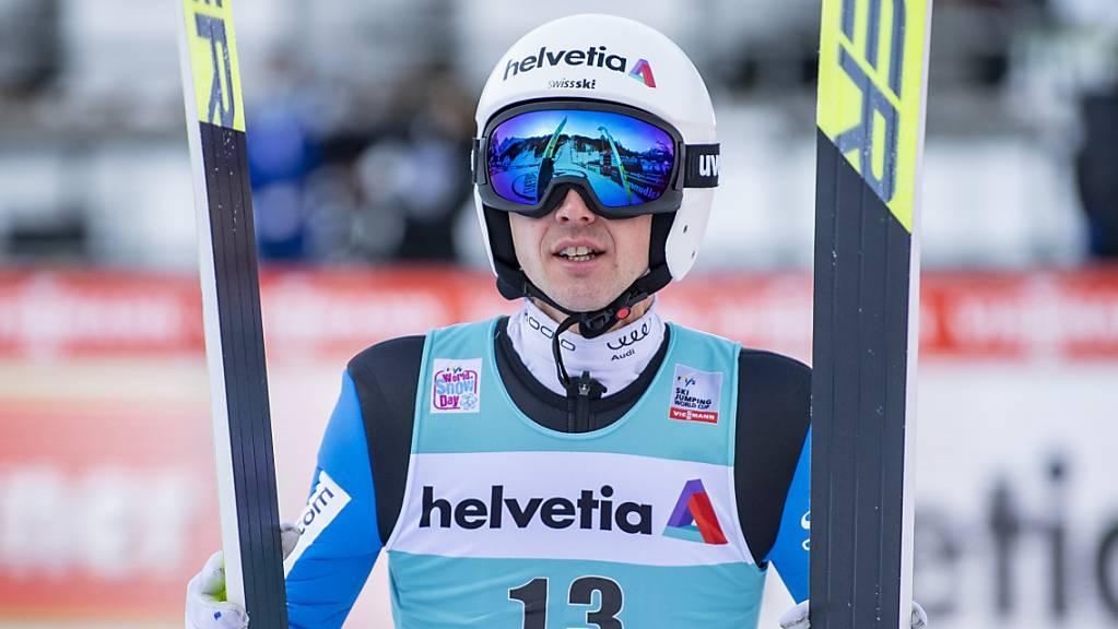Hofft auf Aufschwung an der Vierschanzentournee: Simon Ammann