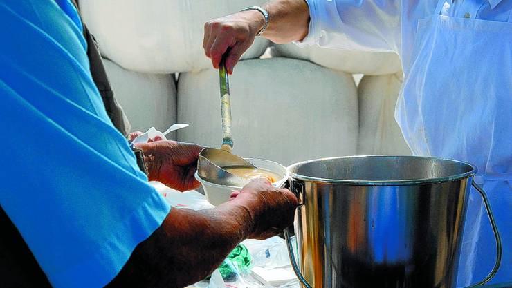 Bärgchilbi: Am kommenden Sonntag wird traditionell Erbssuppe geschöpft. (mjw)