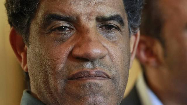 Der ehemalige Geheimdienstchef Libyens, al-Sanussi (Archiv)