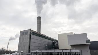 Die Kehrichtverbrennungsanlage Hagenholz in Zürich.