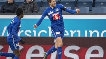 Dank Pascal Schürpf beendete der FC Luzern vor der Winterpause seine Negativserie