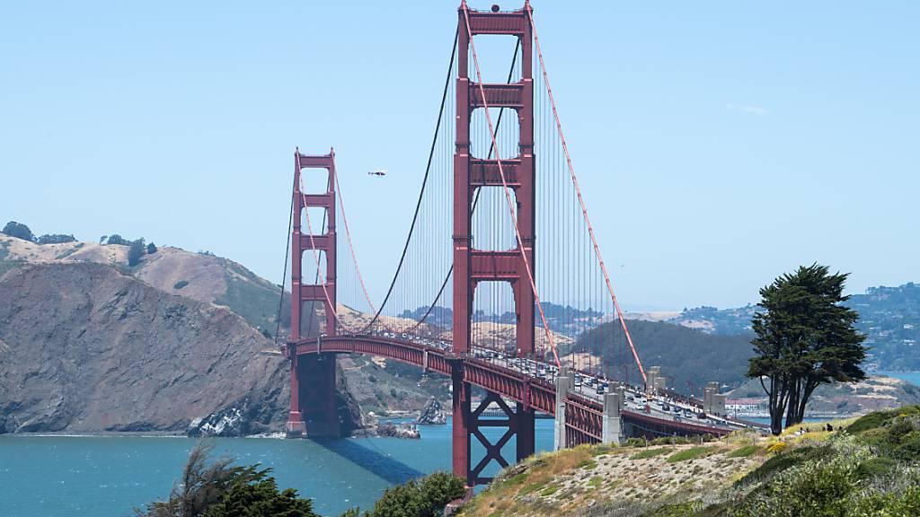 Neues Geländer bringt Golden Gate Brücke zum Summen