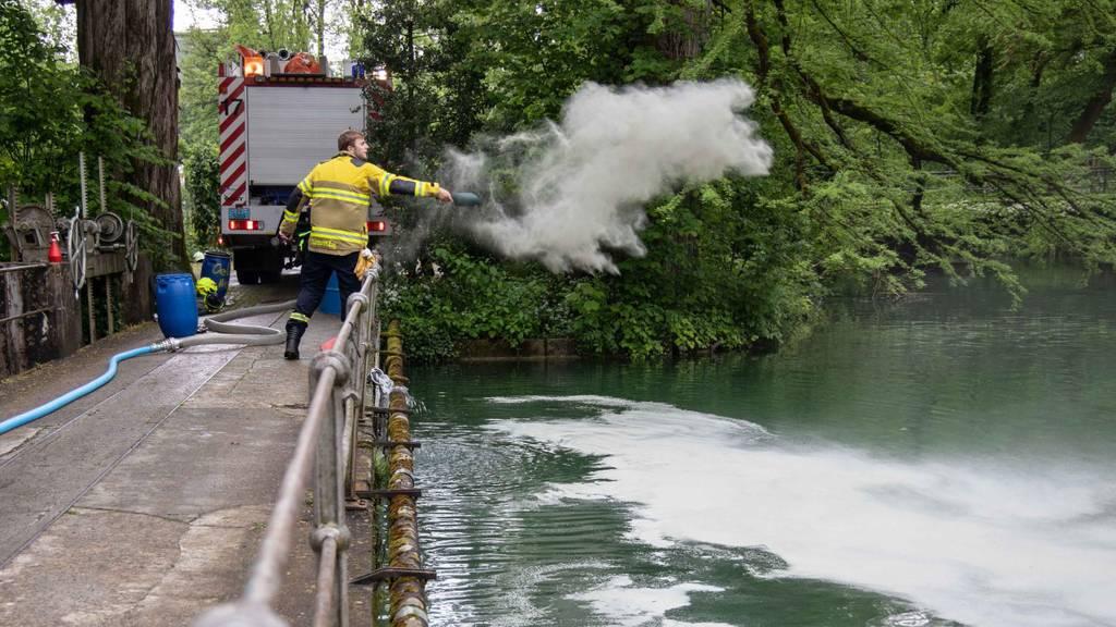 Über 200 Liter Öl in Lorze geflossen