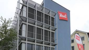 Das Wernli-Gebäude in Trimbach.