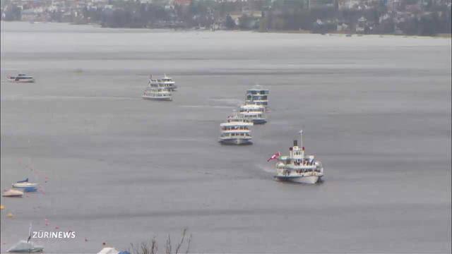 Zürichsee-Schifffahrts-Gesellschaft feiert 125-Jahre-Jubliäum