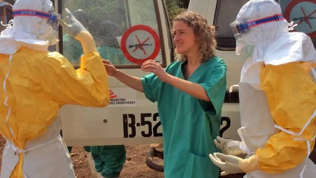 Mitarbeiter von Ärzte ohne Grenzen in Guinea (Archivbild)