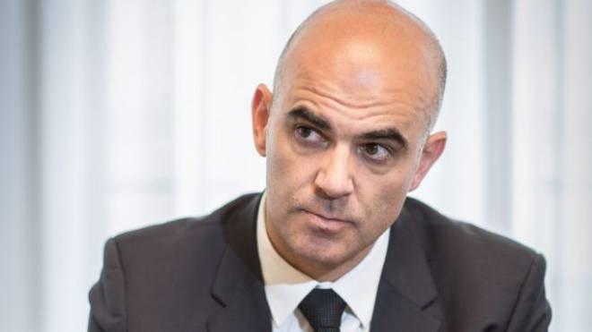 Sozialminister Alain Berset. Foto: Mathias Marx