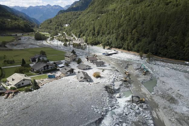 In Bondo ereignete sich am 23. August 2017 der grösste Bergsturz seit Jahrzehnten in Graubünden, der acht Menschenleben forderte.