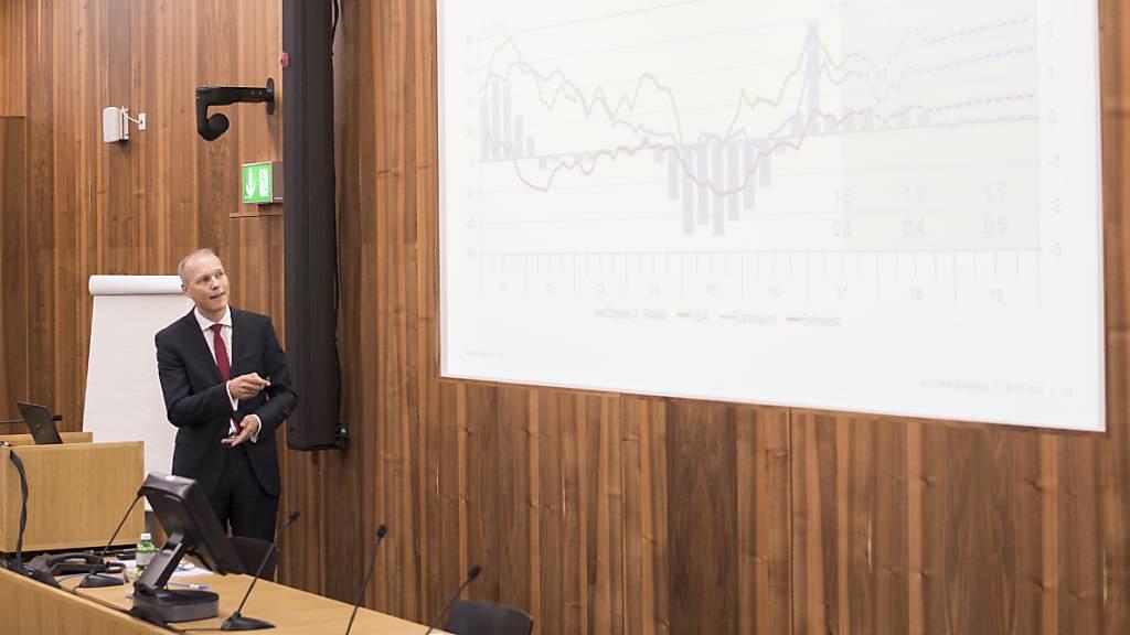 KOF senkt Prognosen für Wirtschaftswachstum in der Schweiz