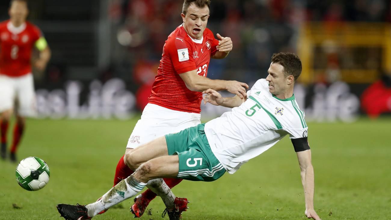 WM-Barrage Rückspiel (© Keystone)