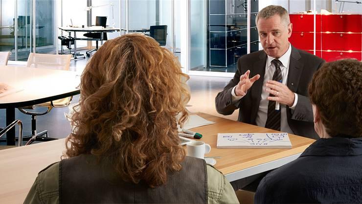 Kommunikationsexperte Bruno Hofer will die Attraktivität des Zurzibiets erhöhen. zvg