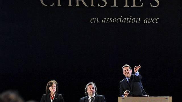 Christies wird Auktion durchführen