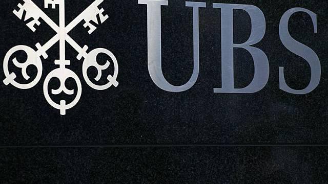 Das Logo der Grossbank UBS (Archiv)