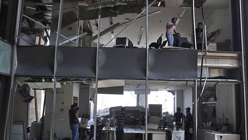 Deutsche Diplomatin bei Explosion in Beirut getötet