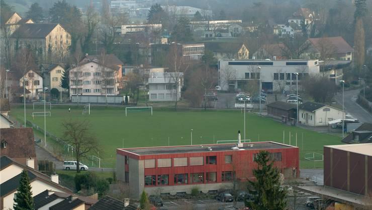 Der Sportplatz Steig: Hier trägt der FC Turgi seine Heimspiele aus. AZ-Archiv