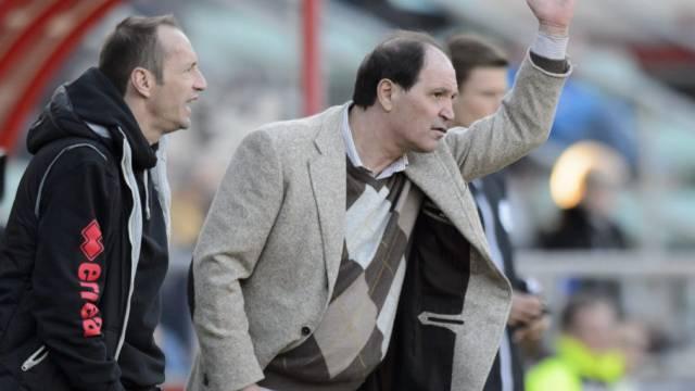 Sions Trainer-Duo Raimondo Ponte und Frédéric Chassot.