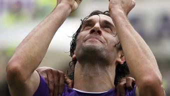 Fiorentinas Torschütze Luca Toni besiegelte Palermos Schicksal.
