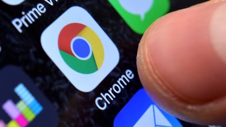 Der Chrome-Browser von Google soll in zwei Jahren keine Cookies mehr akzeptieren. (Archiv)