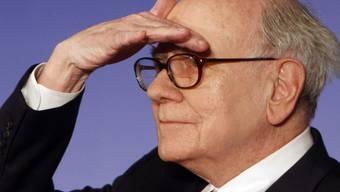 Wo sind bloss die Scheinchen hin? Warren Buffetts Vermögen ist geschrumpft (Archiv)
