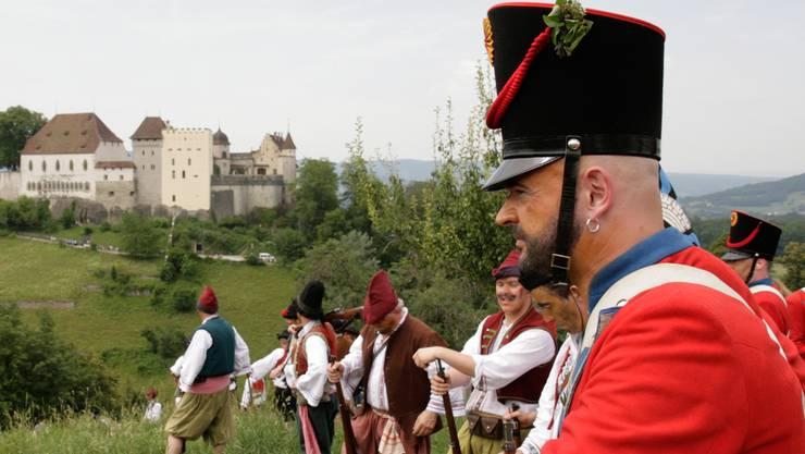 Bis zum Jugendfest Lenzburg dauert es noch drei Tage.