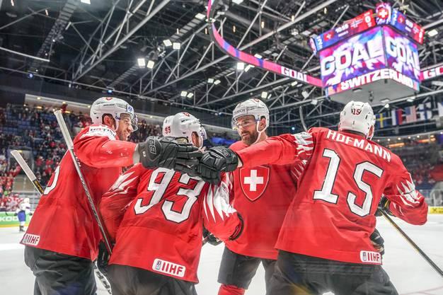 Es bleibt das letzte Tor der Partie, die Schweiz siegt gegen Norwegen mit 4:1.