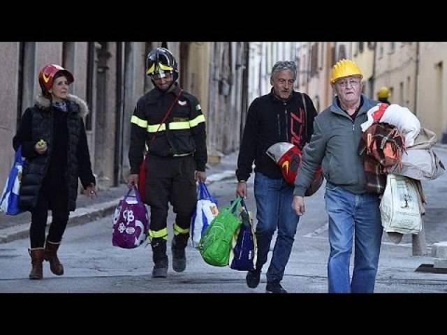 Nach Erdbeben in Mittelitalien: Heimat in Trümmern