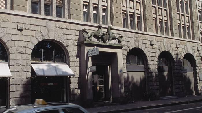 Sitz de Kantonalen Verwaltung: Das Kaspar-Escher-Haus in Zürich.